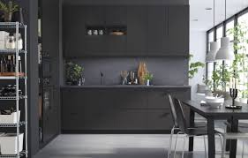 interior decorating top kitchen cabinets modern. Wonderful Black IKEA Kitchen Cabinet Wall And Drawer With Simple Reclaimed Wood Dining Table Modern Plastic Materials Back Chairs Interior Decorating Top Cabinets O