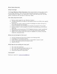 Sales Associate Job Description Resume Retail Associate Job Description Resume Elegant Teller Job 17