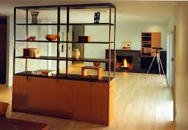 Marvelous ... Cupboard And Bookshelf Unit Offers Storage And Display Space Even While  Doubling As A Room Divider