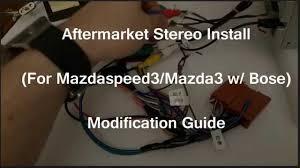 2012 mazda 3 bose wiring diagram 2012 image wiring bose aftermarket stereo mod for mazda3 ms3 w bose eonon on 2012 mazda 3 bose wiring