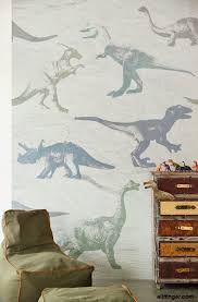 Eijffinger Wallpower Junior Dino Fossils Grey Fotobehang