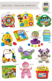 Gifts-for-1-Year-Olds. A great list!   Evelyn Ann Day Toys for 1