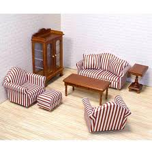 wooden barbie dollhouse furniture. Dollhouse Furniture Sets Living Room Set Barbie Uk Wooden