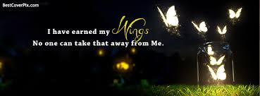 Beautiful Cover Photos With Quotes For Facebook Best Of Beautiful Butterly Wings Quote Facebook Cover Photo