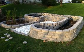 Small Picture Raised Beds Concrete Pavers Container Gardening Pinterest