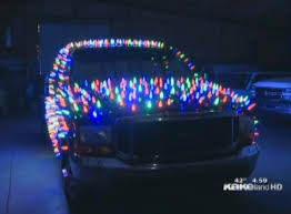 Driver gets ticket for decking his car with XMas lights - NY Daily ...