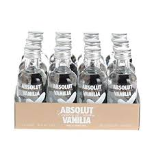 absolut vanilia vanilla vodka 5cl miniature 12 pack