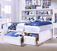 white bedroom furniture design. Brilliant Bedroom Stunning Bedroom Furniture Design Interior Of The Feature Solid White  Wooden Paint Queen Frame With Full Storage Bookcase On Headb Bookshelf Headboard  O