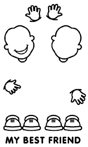 Small Picture Friends Coloring Page crayolacom