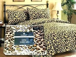 full size of leopard print bedding uk pink single animal sets bed set home improvement extraordinary
