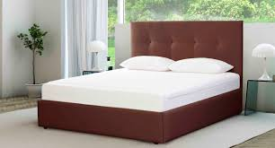 Double bed / contemporary / upholstered / with in-base storage ... & Double bed / contemporary / upholstered / with in-base storage - QUILT Adamdwight.com