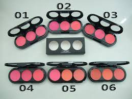 mac makeup three color blush s