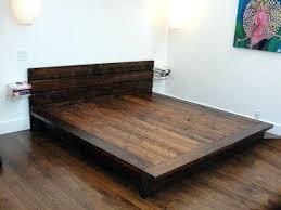 Making A Platform Bed Fantastic King Size Platform Bed Plans With