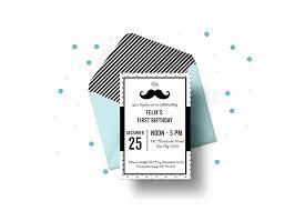 Free Templates Invitations Printable Free Printable Mustache Party Invitations Blank Editable