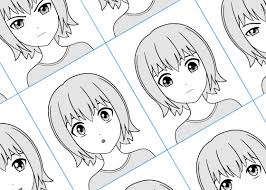 Face Perspective Chart How To Draw Anime Manga Tutorials Animeoutline