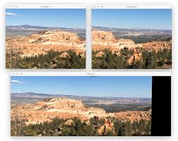 OpenCV panorama stitching - PyImageSearch