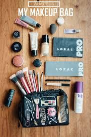 your makeup bag what s in my makeup bag take