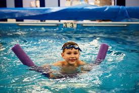 Kids Baby Swimming Learning at 6 Months Old Chicago Blue Dolphins