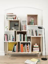 How To Build Your Own Furniture Build Your Own Bookcase With This Stacked Shelf System4 Playuna