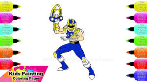 Power Rangers Coloring - Free Power Ranger Coloring Pages For Kids ...