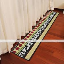 fancy kitchen carpet runner 0 rug red 4 1
