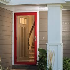 replacement glass storm doors pella