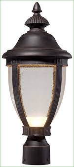 lighting the great outdoors 72416 51a l wynterfield 1 light led post mount outdoor globe