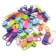 Online Shop <b>25Pcs</b>/<b>lot</b> Bright Color 3# Nylon <b>Zipper</b> Slider Fashion ...