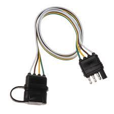 Trailer Light Plug Wiring High Quality 32 4 Pin Rv Trailer Light Wiring Plug Adapter