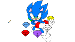 Sonic The Hedgehog Coloring Pages | Coloring Videos For Kids - YouTube