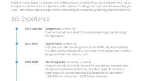 Resume Online Creative Builder Interesting Modern Writing Tags