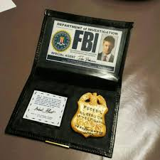 Dean's Fake Fbi Badge Amino Prop Cosplay