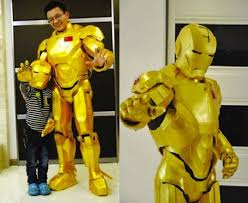 diy iron man suit for just 49 eco kids