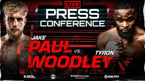 Tyron woodley fight takes place tonight, sunday, august 29 live from rocket mortgage fieldhouse in cleveland. Jake Paul Vs Tyron Woodley Official Press Conference Face Off Youtube