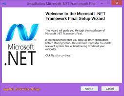 microsoft net framework all versions