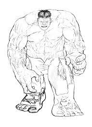 Hulk Da Colorare 18 Disegni Da Colorare E Stampare Gratis