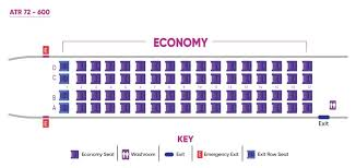 Royal George Seating Chart Caribbean Airlines Fleet Atr 72 Details And Pictures