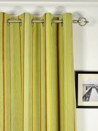 ... Petrel Heavy-weight Stripe Grommet Chenille Curtains Heading Style  Petrel Heavy-weight Stripe Grommet Chenille Curtains Heading Style ...