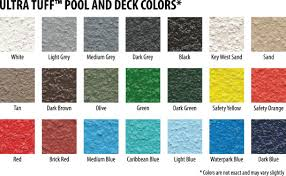 pool deck paint colorsUltra TUFF Rubberized Deck Coating GALLON