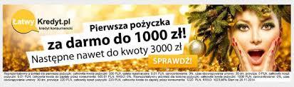Sposób na 1000 zł za darmo czyli pożyczka w Łatwy Kredyt ...