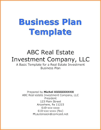 Business Plan Cover Page Business Plan Title Page Template Business Plan Cover Page Example