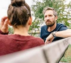 Image result for depressed person talking to a counsel