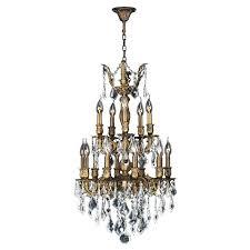 antique bronze crystal chandelier antique glass chandelier tropical chandelier foyer lighting