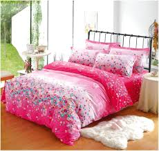 pink bed sets twin
