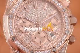 Mille Richard - Best Price Online Sale Watches With Audemars-piguet-royal-oak-chronograph-diamond-pave-mens-replica-watch-ef-4 Cheap Replica