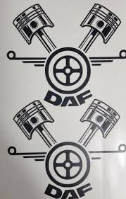 car tuning styling parts daf logo