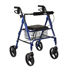Ultra Light Rollator Pin On Walker