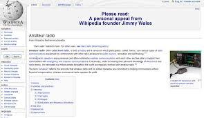Amateur radio web page