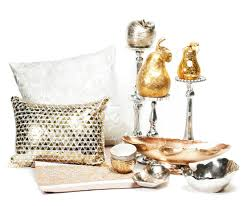 Metallic Home Decor Silver And Gold Thisiskc