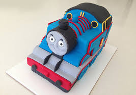 Howtocookthat Cakes Dessert Chocolate 3d Thomas Train Cake